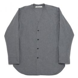 Honor gathering / Cotton Rip Stop Cloth Haori Jacket (Mix Gray)