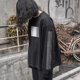 stein / Oversized Long  Sleeve Tee -To Complete- (Black)
