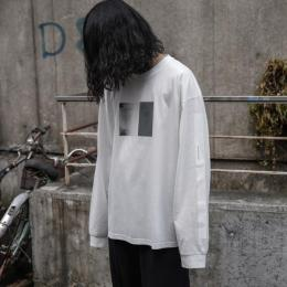 stein / Oversized Long  Sleeve Tee -To Complete- (White)