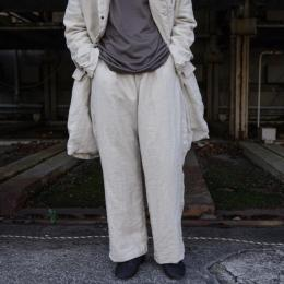 GARMENT REPRODUCTION OF WORKERS / Farmers Trousers Wide Silhouette (Ivory)