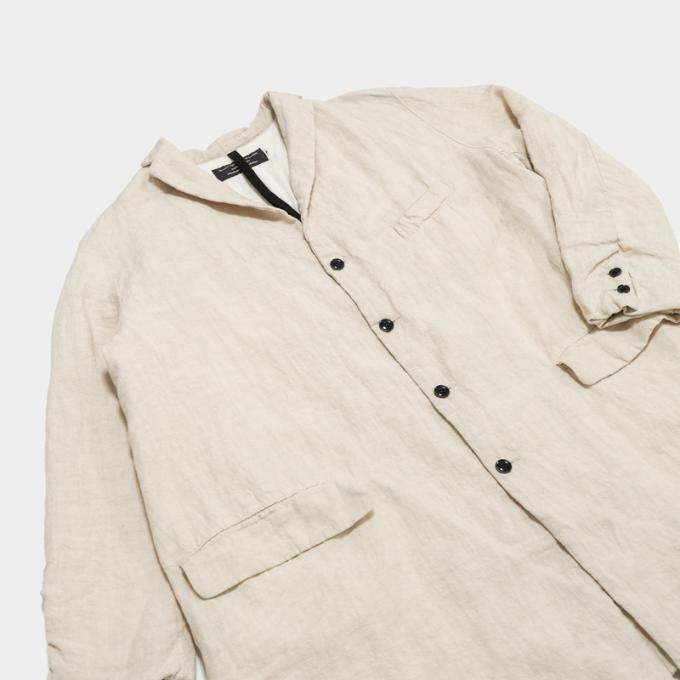 GARMENT REPRODUCTION OF WORKERS / Pauvre Coat (Ivory)