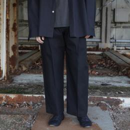 stein / Wide Straight Trousers
