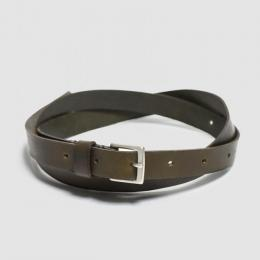 WIRROW / Narrow Belt (Dark Olive)