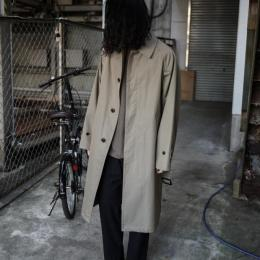 YOKE / Downsizing Bal Collar Coat (Khaki)