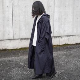 STUDIO NICHOLSON / Technical Parachute Unconstructed Hooded Coat