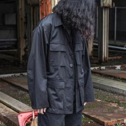 un/unbient × twelve / Cotton Satin BDU Jacket