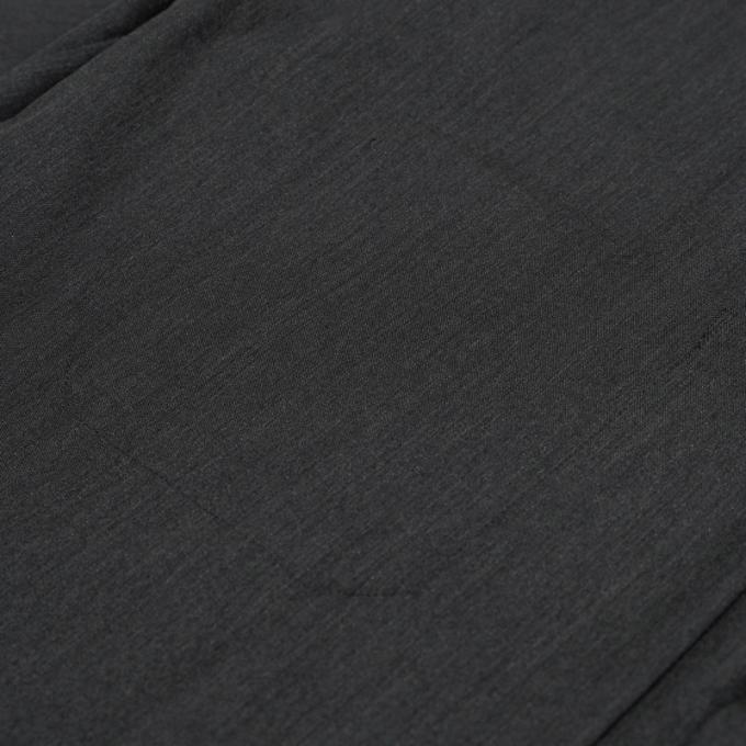 AURALEE / Wool Silk Tropical Shirts Jacket (Charcoal Black ...