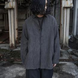 GARMENT REPRODUCTION OF WORKERS / Wide Silhouette Shirt (Slate Gray)