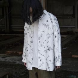 GARMENT REPRODUCTION OF WORKERS / Wide Silhouette Shirt (Antique Botanical)
