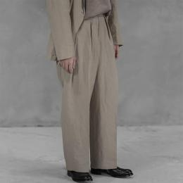POLYPLOID / Wide Tapered Pants #C