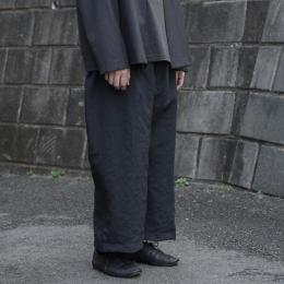 MAINU × twelve / Side Dirts Pocket Wide Pants (Black)