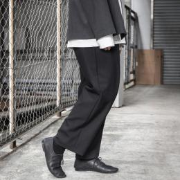 WIRROW / Wool Wide Tapered Slacks
