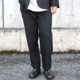 WIRROW / Alpaca Wool Straight Slacks