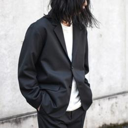 WIRROW / Alpaca Wool Boxi Jacket