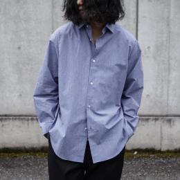 Phlannel / Cotton Voile Yarn Over Sized Shirt
