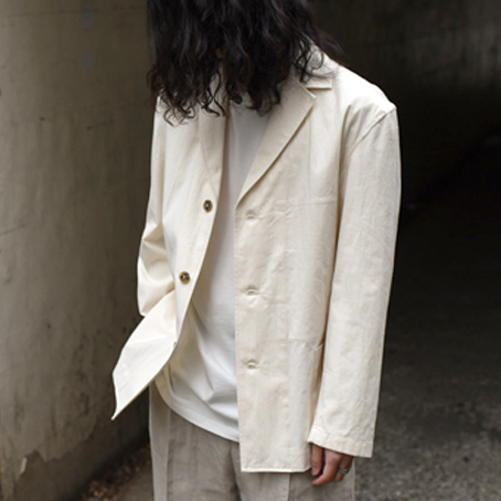 【SALE】POLYPLOID / Suit Jacket #A (Off White)