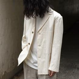 POLYPLOID / Suit Jacket #A (Off White)