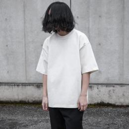 AURALEE / Stand Up Tee (White)