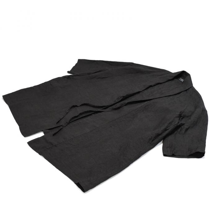 GARMENT REPRODUCTION OF WORKERS / Ramie Robe Alette (Slate Gray)