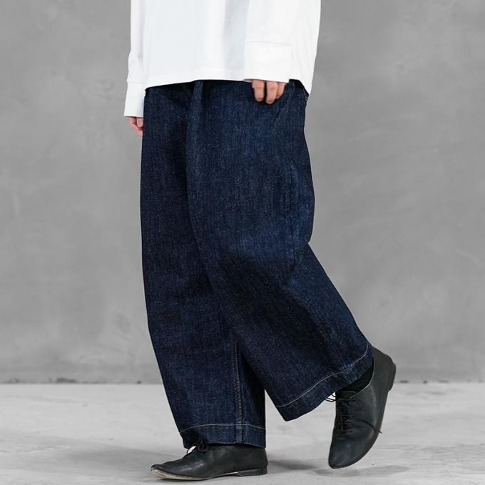 STUDIO NICHOLSON / Selvedge Denim Pants