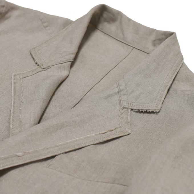 MAINU / Linen Unlined Jacket (Beige)