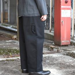 STUDIO NICHOLSON / Bridges Pants (Black)