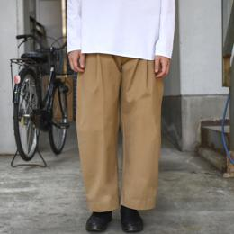 STUDIO NICHOLSON / Bridges Pants (Tan)