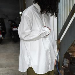 GARMENT REPRODUCTION OF WORKERS / Wide Silhouette Shirt (White)