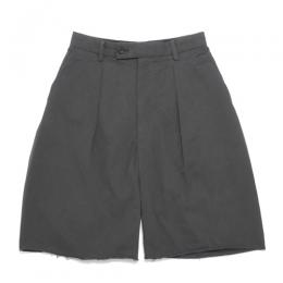 MAINU / Cotton Side Dirts Wide Short Pants
