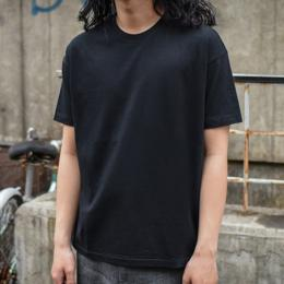 【SALE】AURALEE / Seamless Crew Neck Tee (Black)