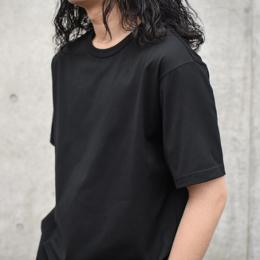 WIRROW / Crew Neck T-shirt (Black)