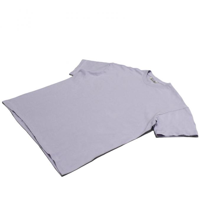 AURALEE / Seamless Crew Neck Tee (Light Purple)