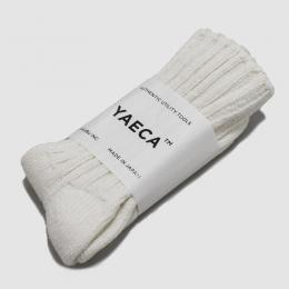 YAECA / Cotton Silk ソックス (Off White)