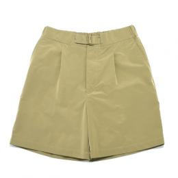 UNITUS / Belted Easy Shorts(Beige)