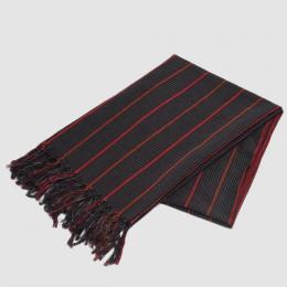 Honor gathering / Linen Cotton Tribal Stripe Stole
