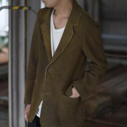 【SALE】Frank Leder / Special Treated Deer Leather Jacket