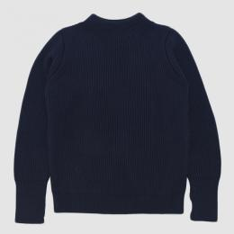 "ANDERSEN-ANDERSEN / ""THE NAVY"" Crew Neck 5GG (Blue)"