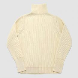 ANDERSEN-ANDERSEN / THE NAVY Turtle Neck 5GG (Off White)