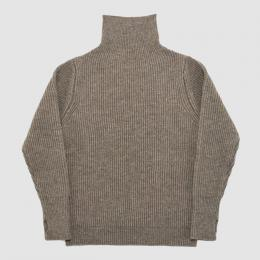 ANDERSEN-ANDERSEN / THE NAVY Turtle Neck 5GG (Natural Taupe)