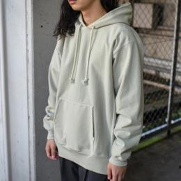 AURALEE / Super Milled Sweat P/O Parka (Pale Green)
