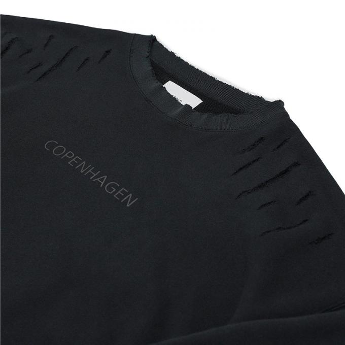 stein / Oversized Rebuild Sweat LS (Black)