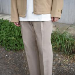 AURALEE / Hard Twist Double Cloth Wide Slacks (Gray Beige)