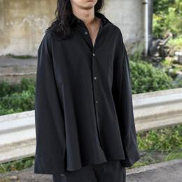 stein / Oversized Down Pat Shirt (Black)
