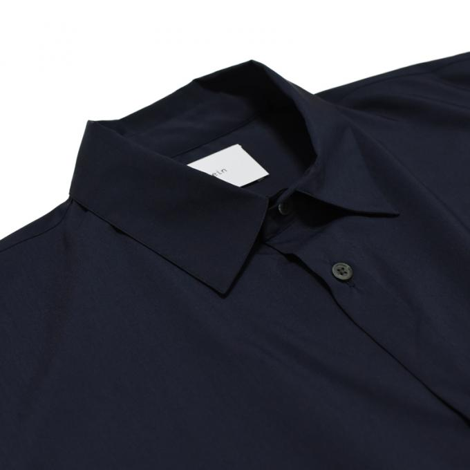 stein / Oversized Down Pat Shirt (Navy)