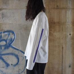 stein / Oversized Long Sleeve Tee (White)