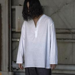 Dead Stock / Russian Military Summer Sleeping Shirt (White)