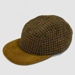 【SALE】Hender Scheme / Tweed Jet Cap (Camel×Brown)