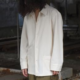 THE HINOKI / Organic Cotton Crape Shirt Jacket