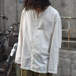 THE HINOKI / Organic Cotton Poplin Pullover Shirt