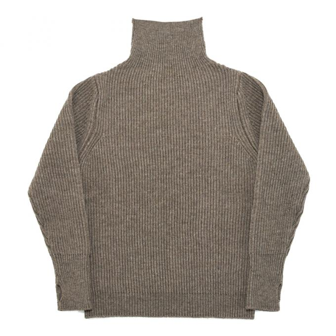 "ANDERSEN-ANDERSEN / ""THE NAVY"" Turtle Neck 5GG (Natural Taupe)"